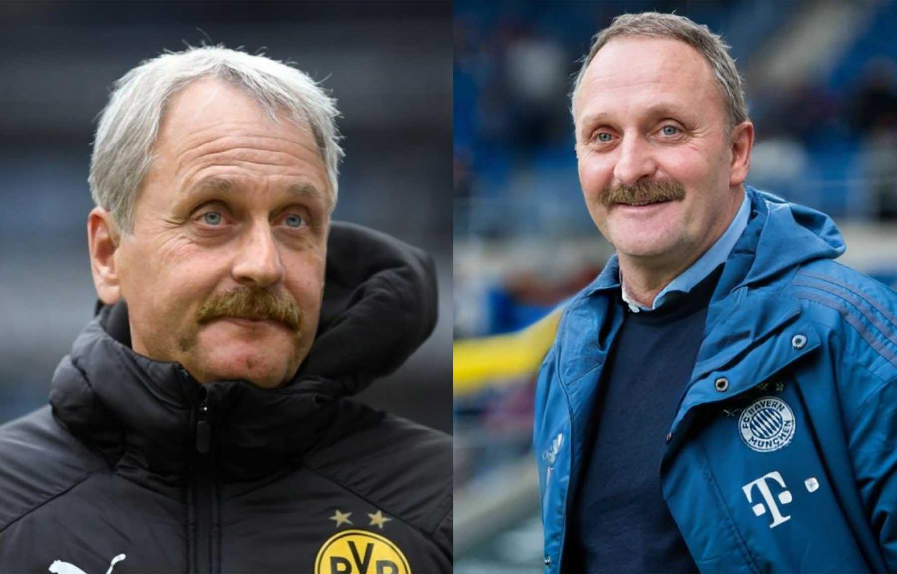 Alle Bundesligatrainer als Peter Neururer