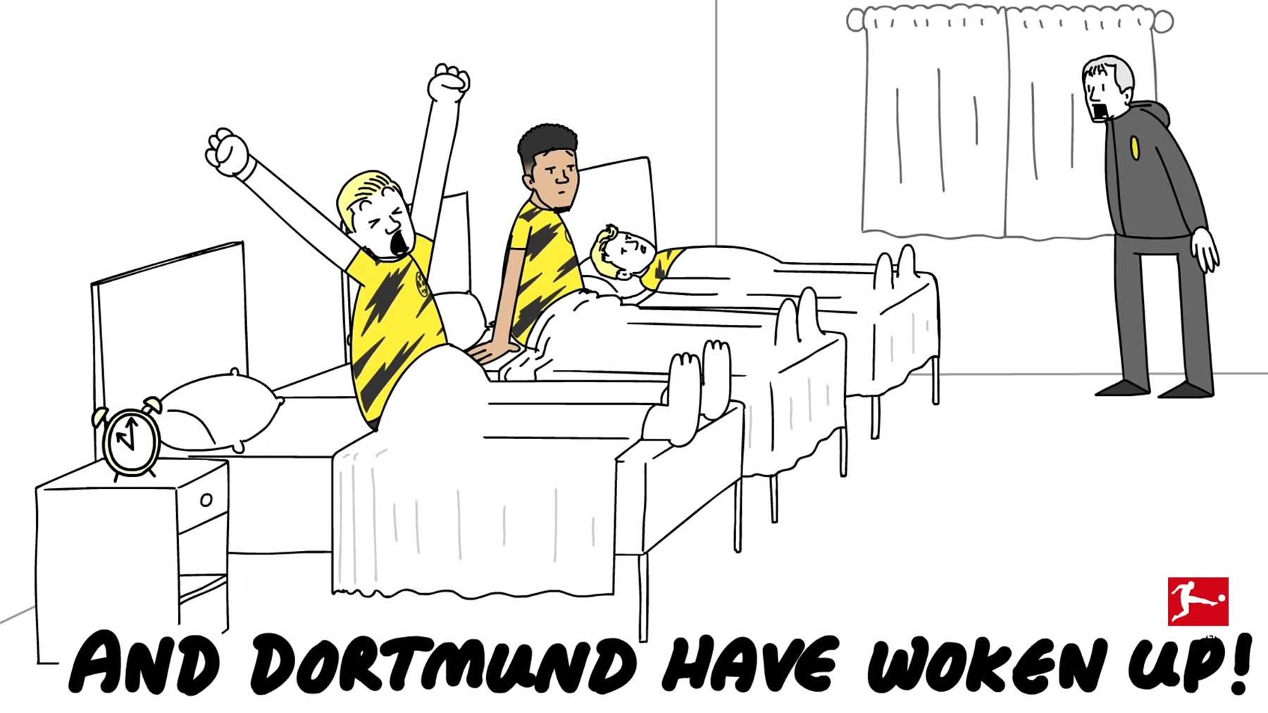 Neue animierte Fußballkommentare von Nick Murray Willis