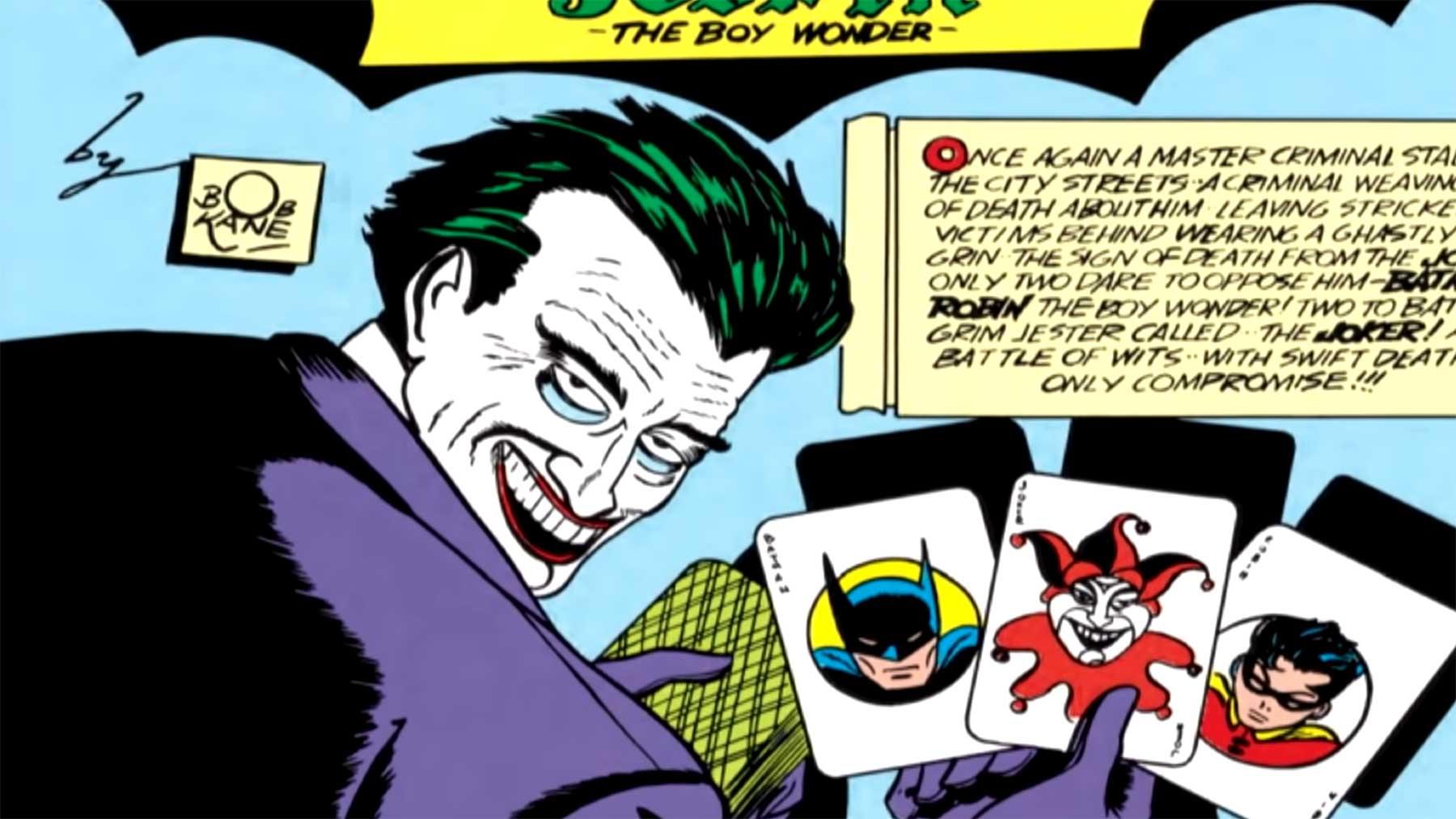 Die Geschichte des Jokers