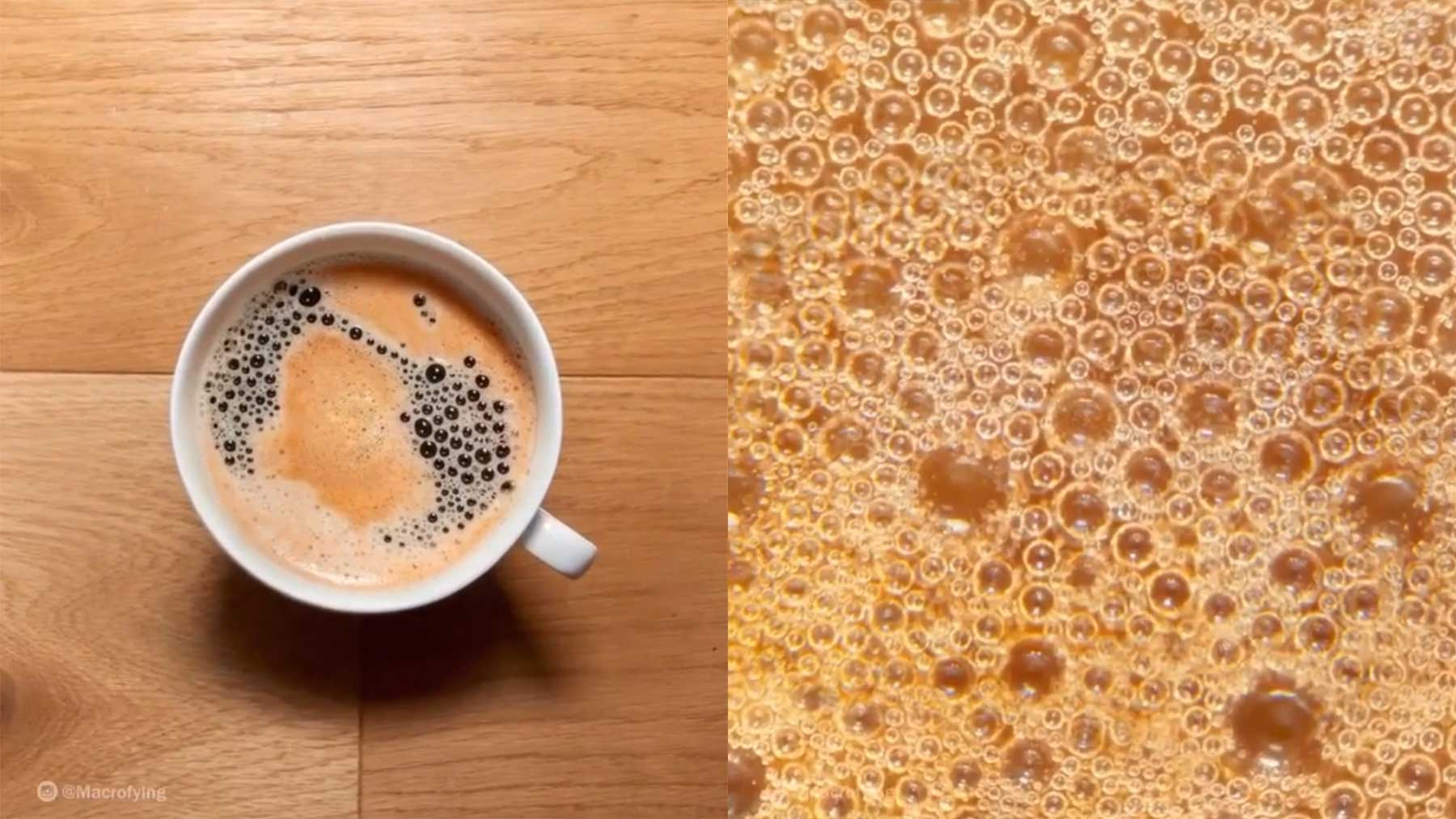 Kaffeetassen-Superzoom