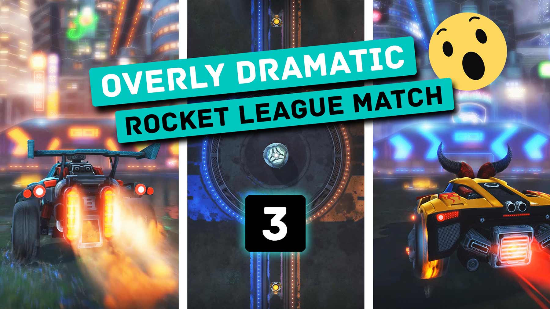 """Mein neues """"Rocket League""""-Video eines überkrassen Spieles"""