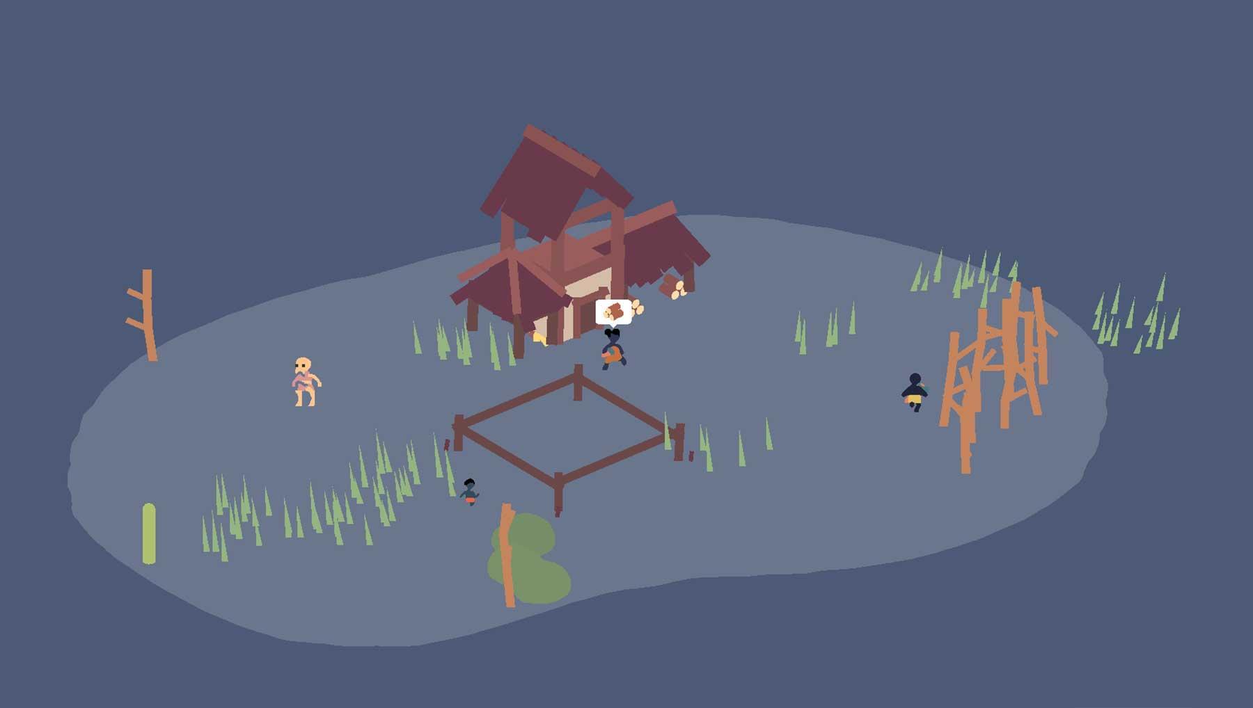 "Aufbausimulation-Survival-Spiel ""pyramida"""