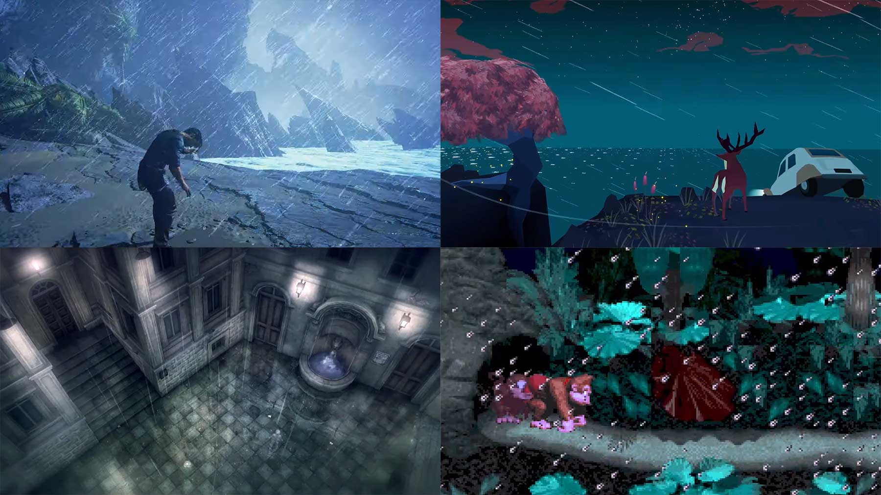 30 Minuten Regen in Videospielen
