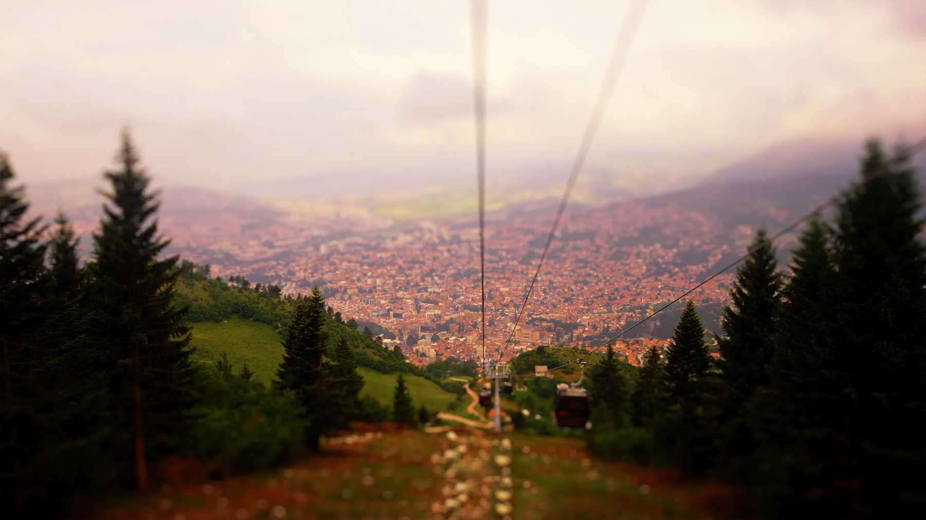 "Tilt-Shift-Video: ""Seriously Sarajevo"""