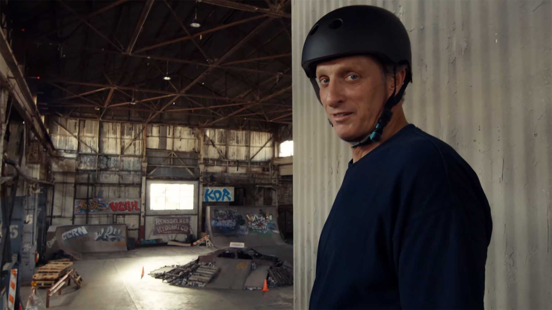 """Das Warehouse-Level aus """"Tony Hawk's Pro Skater"""" in echt nachgebaut"""