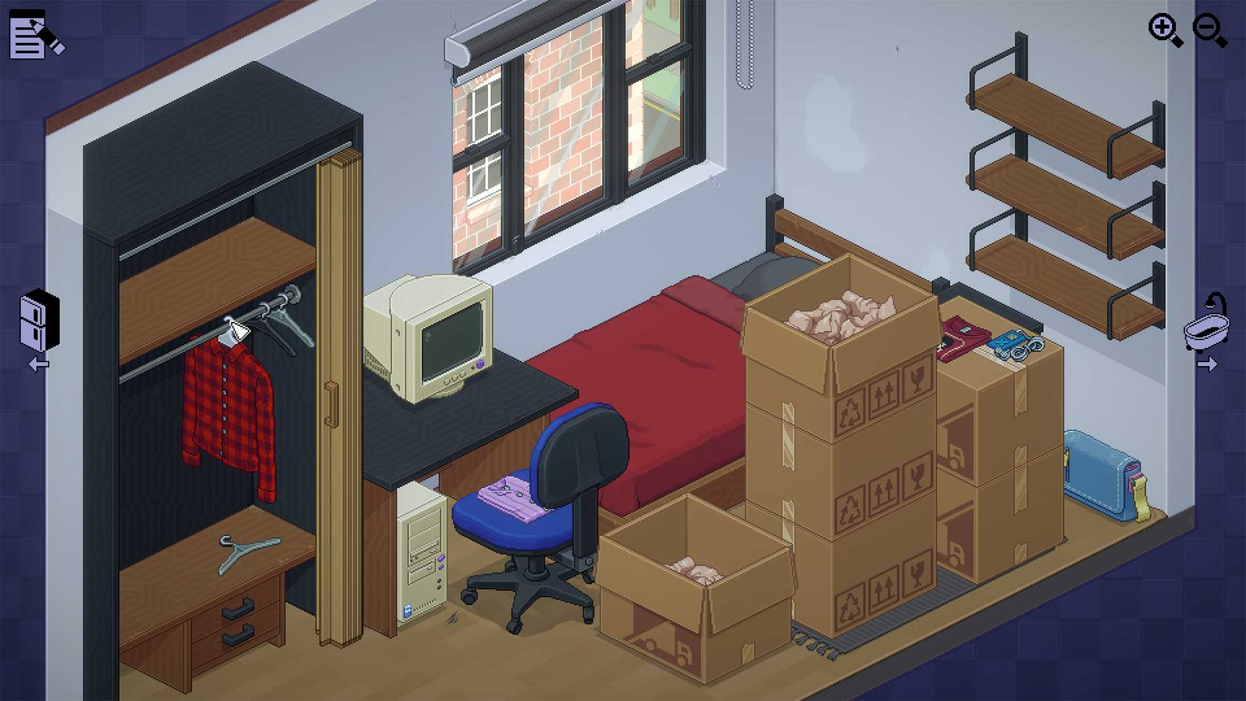 Umzugskartons auspacken, das Videospiel