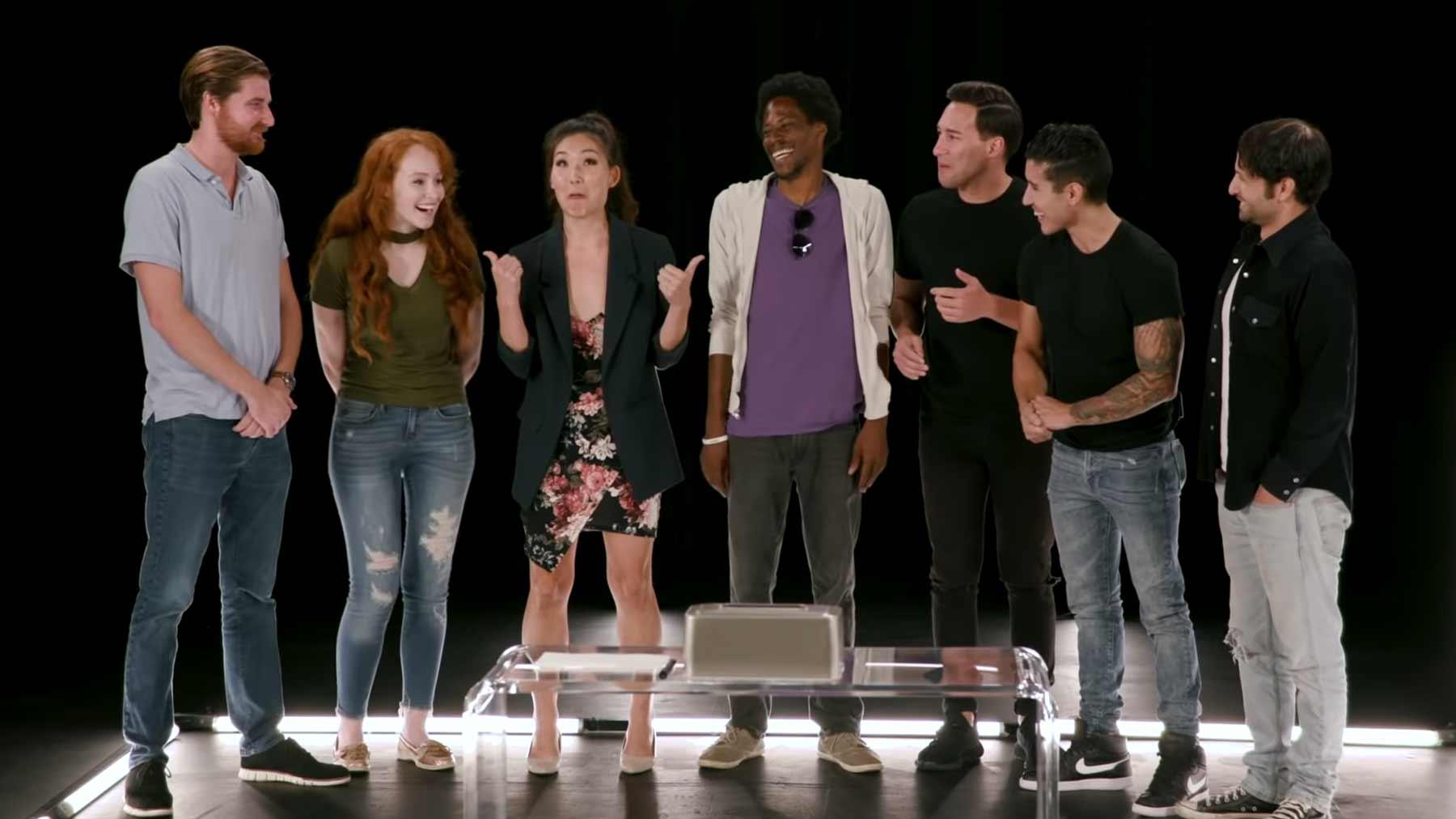 Wer von diesen 7 ist gar kein/e Schauspieler/in?