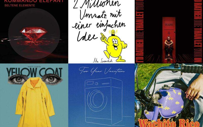 Kurzreviews: Neue Musikalben im Oktober 2020