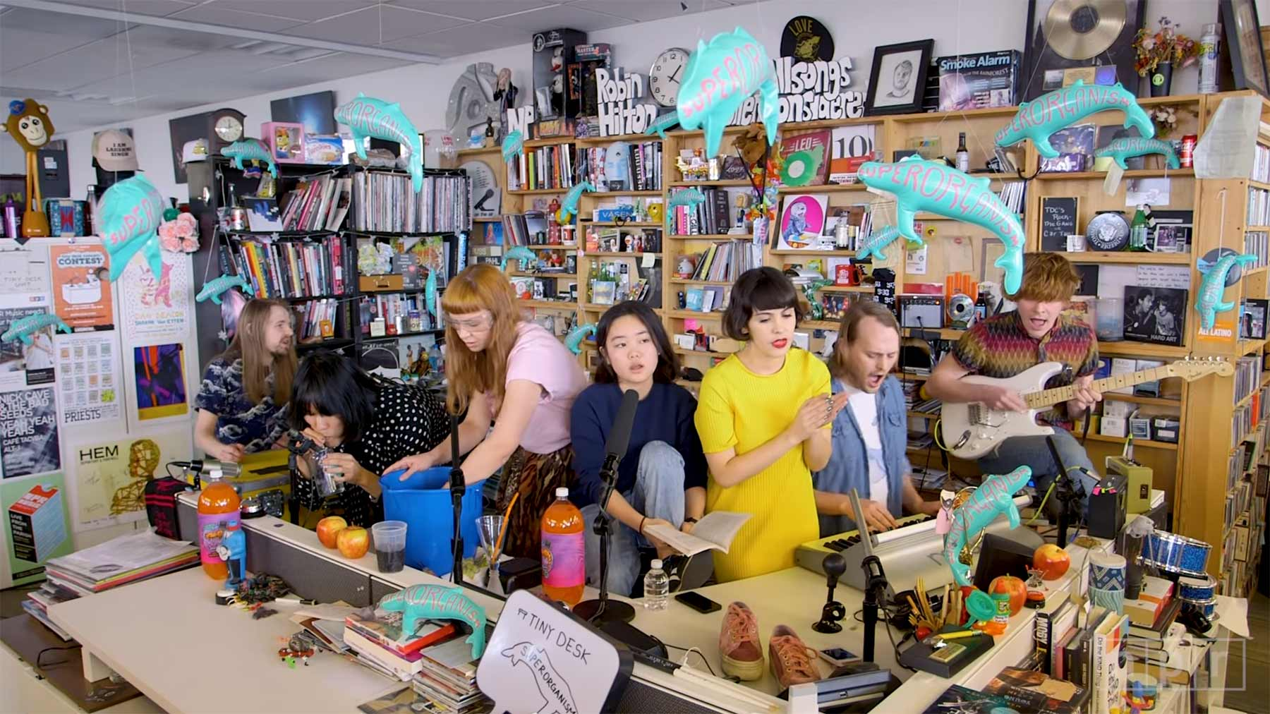 NPR Music Tiny Desk Concert: Superorganism