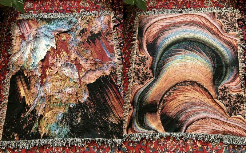 Glitch-Decken von Zouassi
