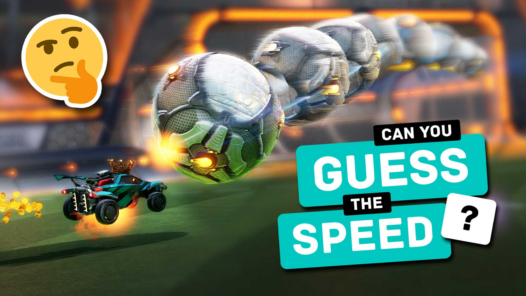 Rocket League Quiz: Errate die Torschuss-Geschwindigkeit!