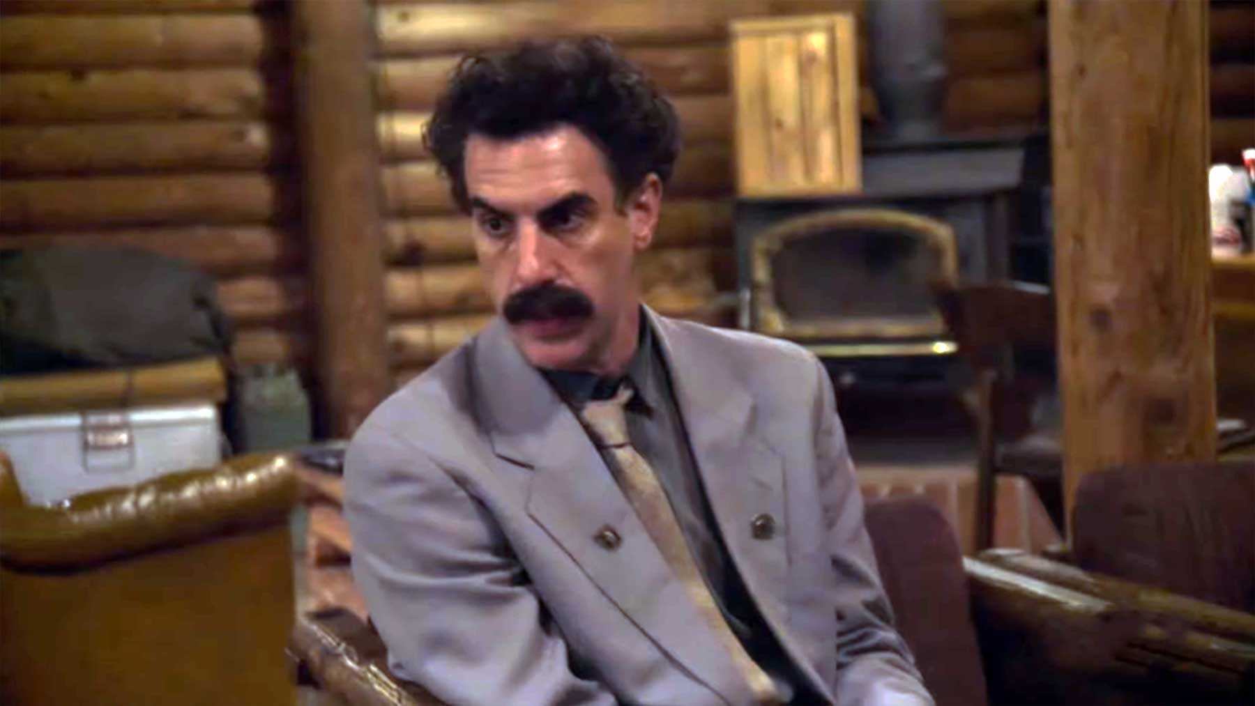 """Borat Teil 2: Filmtrailer zum """"Anschluss-Moviefilm"""" borat-anschluss-moviefilm-trailer"""