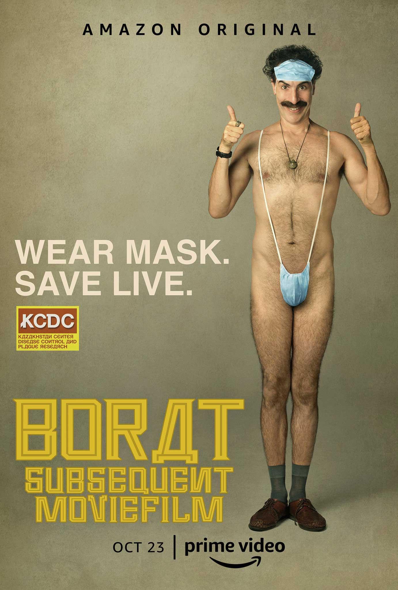 """Borat Teil 2: Filmtrailer zum """"Anschluss-Moviefilm"""" borat-subsequent-moviefilm-poster"""