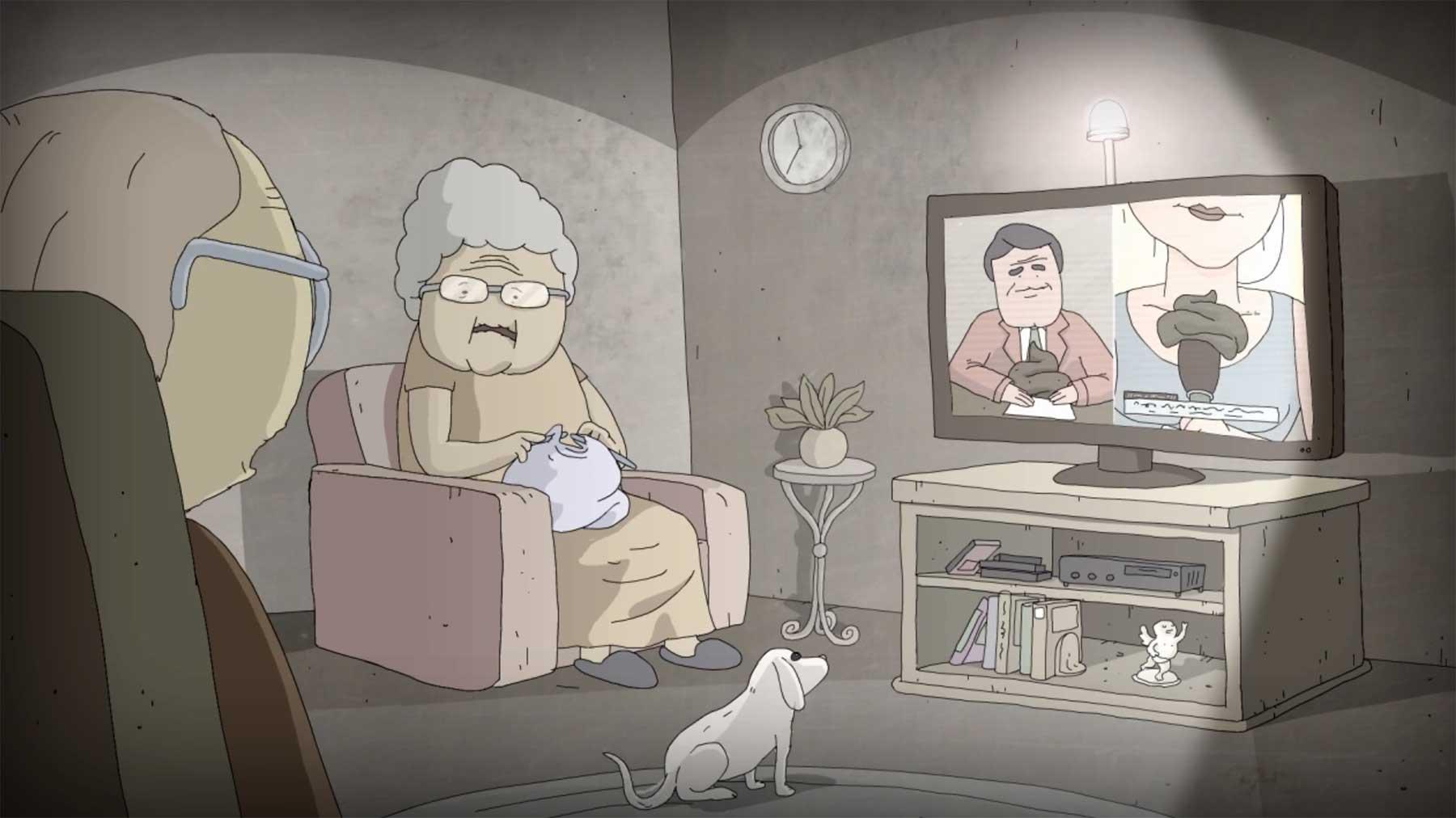 Kurzfilm über um sich greifende Mist-Meinungen kurzfilm-BS-Ben-Meinhardt