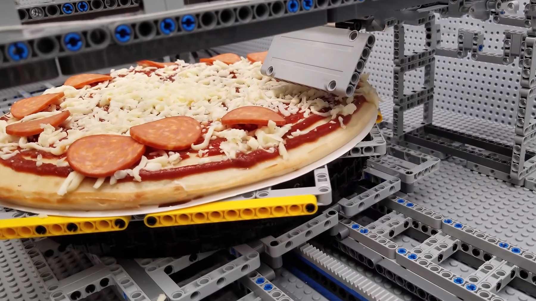 Pizza-Maschine aus LEGO