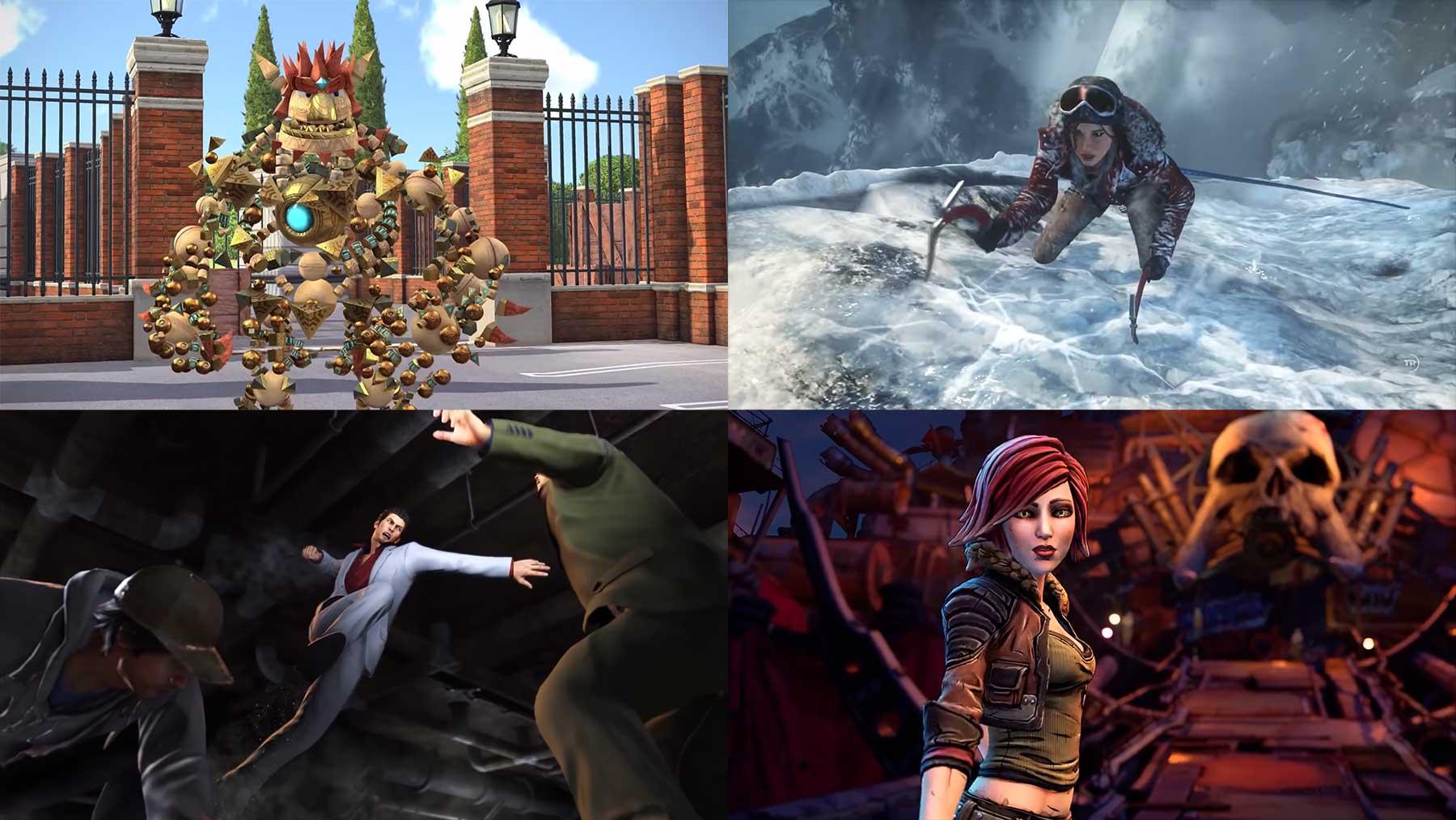 Eine Sekunde aus jedem Spiel, das die PS4-Ära mitdefiniert hat