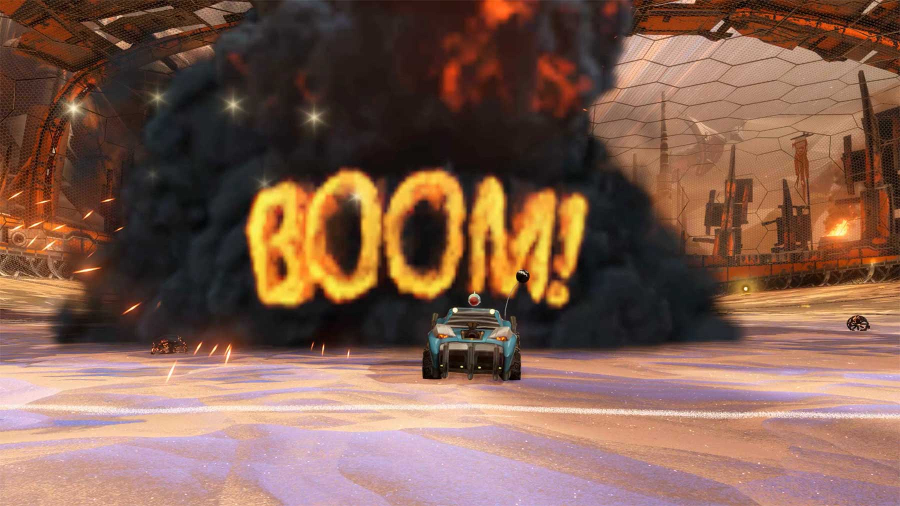 "Filmparodien in ""Rocket League"" rl-at-the-movies-scene"