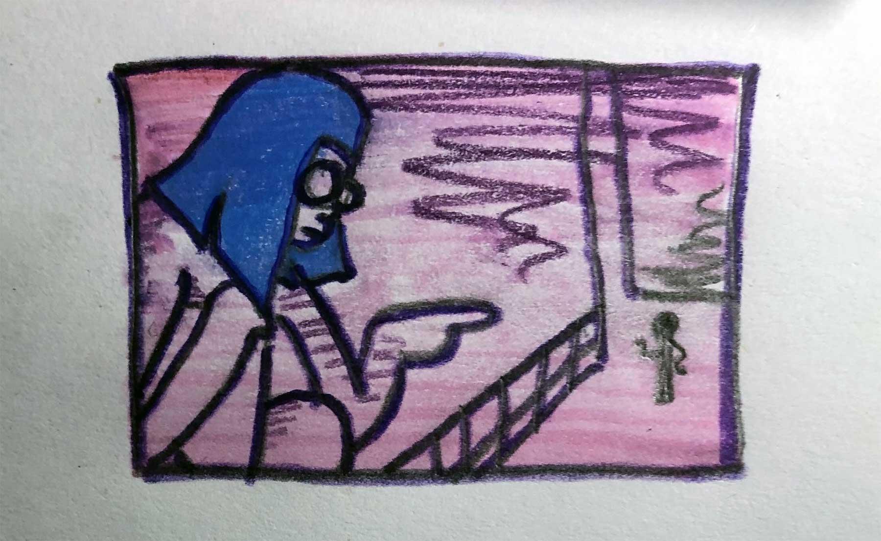 Twitterin @seabitch13 zeichnet großartig plump Filmszenen nach seabitch13-filmszenen-nachgezeichnet_13