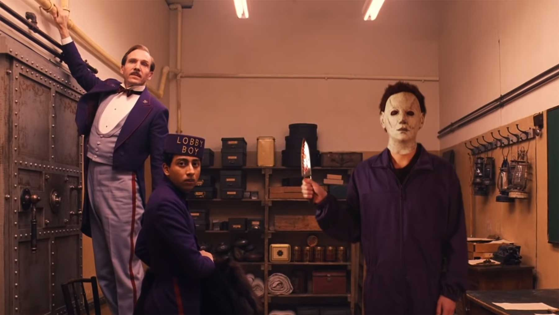 "Wes Anderson's ""Halloween"""