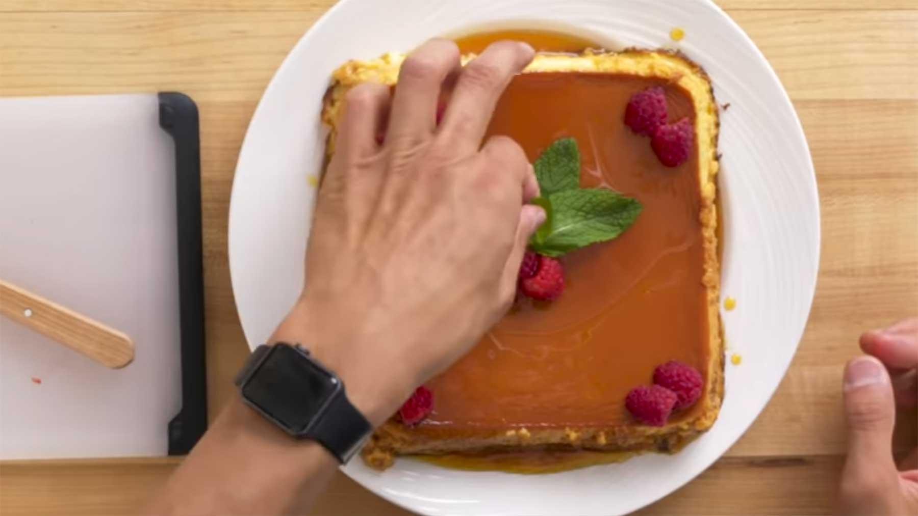 Köche unterschiedlicher Fähigkeitsstufen machen Pudding 4-levels-of-vanillepudding