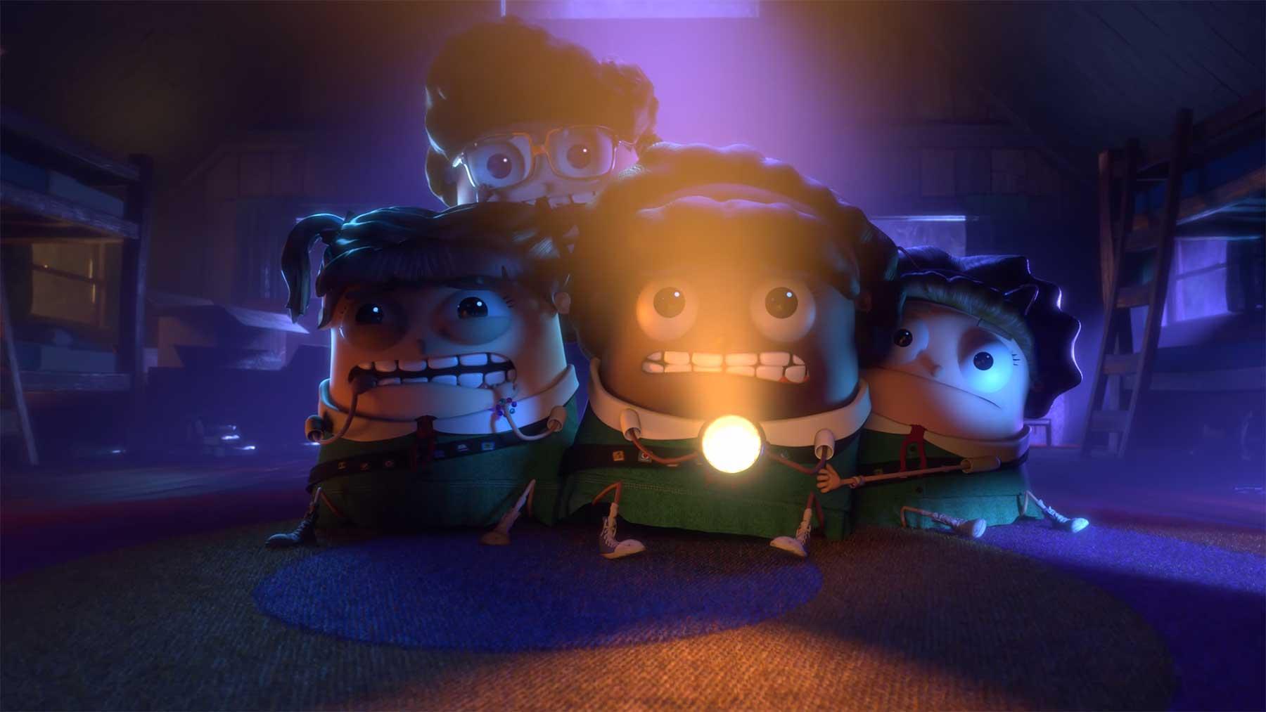"""Animierter Kurzfilm: """"A Night in Camp Heebie Jeebie"""""""