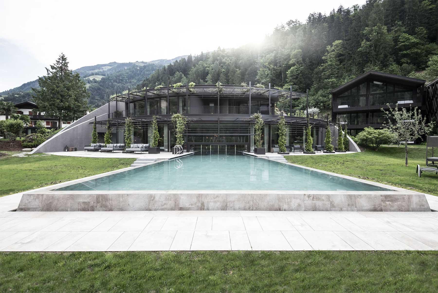 Architektur: Apfelhotel Torgglerhof