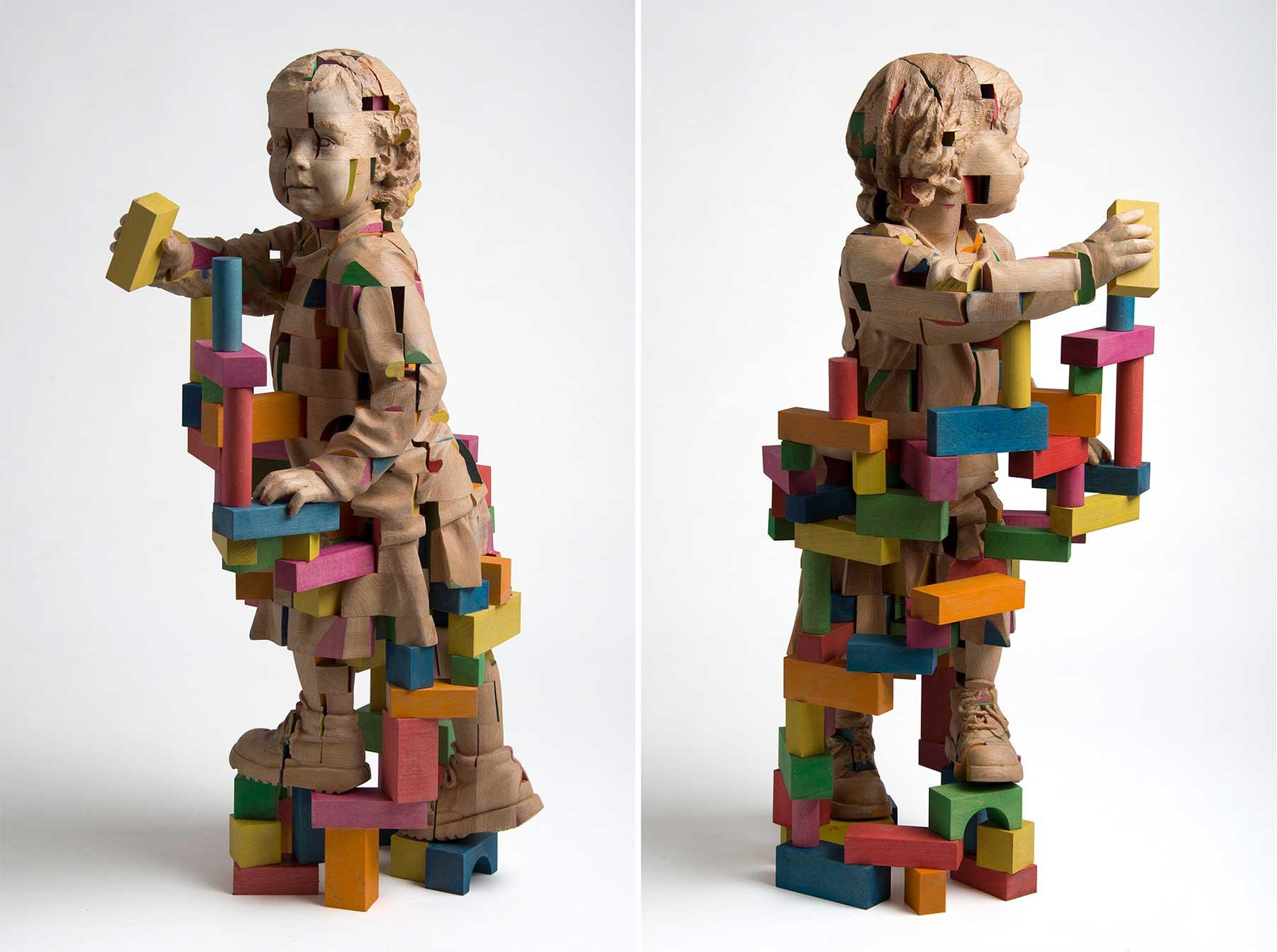 Verspielte Holz-Skulpturen von Efraïm Rodríguez Efraim-Rodriguez-skulpturen_04