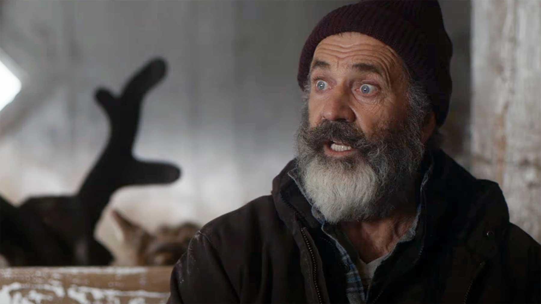 "Mel Gibson mimt in ""FATMAN"" einen grumpy Weihnachtsmann FATMAN-filmtrailer"