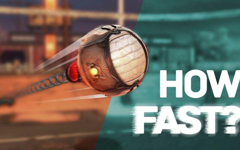 """Erratet die Schuss-Geschwindigkeiten von """"Rocket League""""-Toren!"""