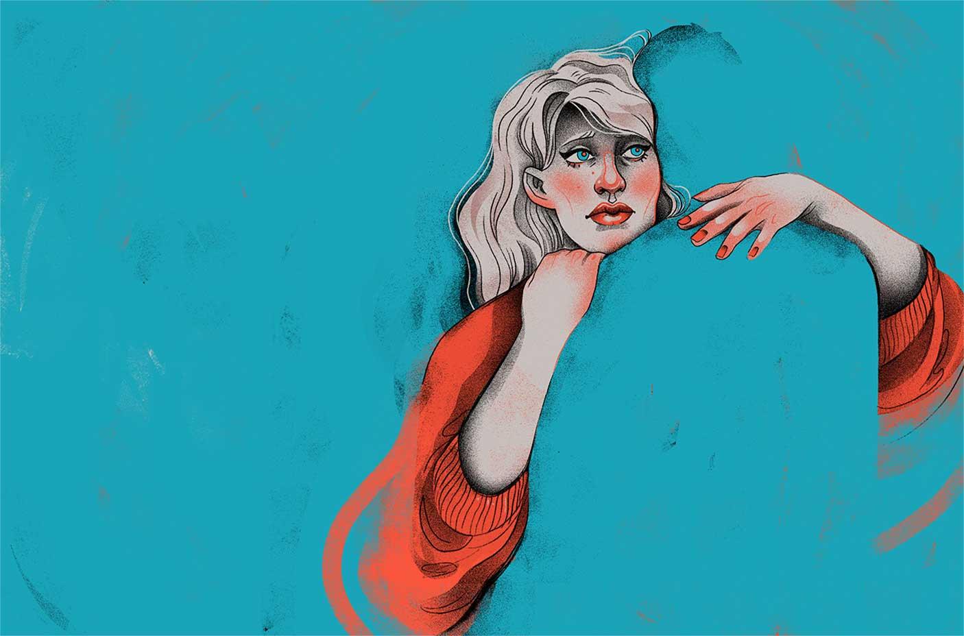 Neue Editorial-Illustrationen von Iza Dudzik Iza-Dudzik-illustration-2020_04