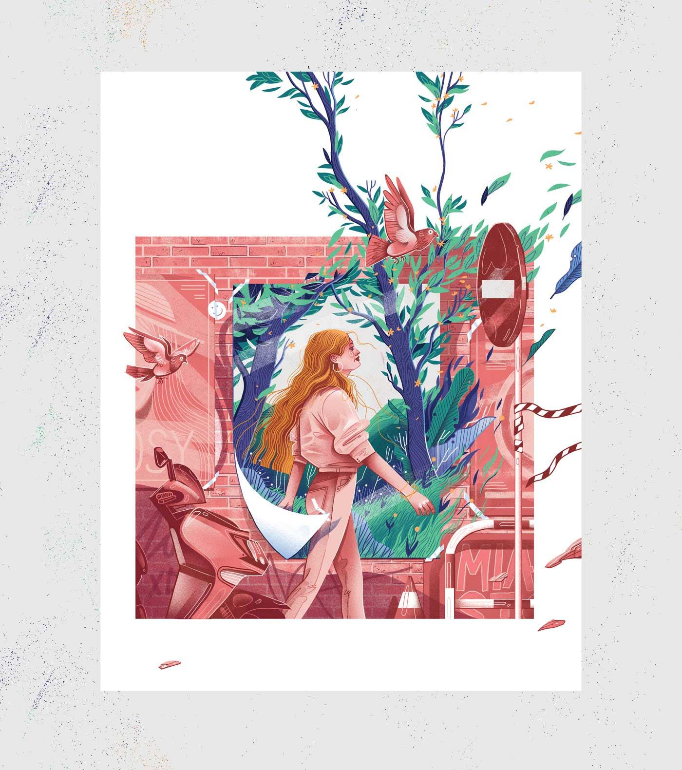 Neue Editorial-Illustrationen von Iza Dudzik Iza-Dudzik-illustration-2020_05