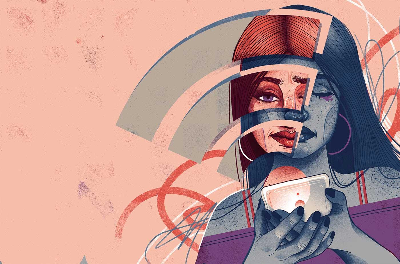 Neue Editorial-Illustrationen von Iza Dudzik Iza-Dudzik-illustration-2020_08