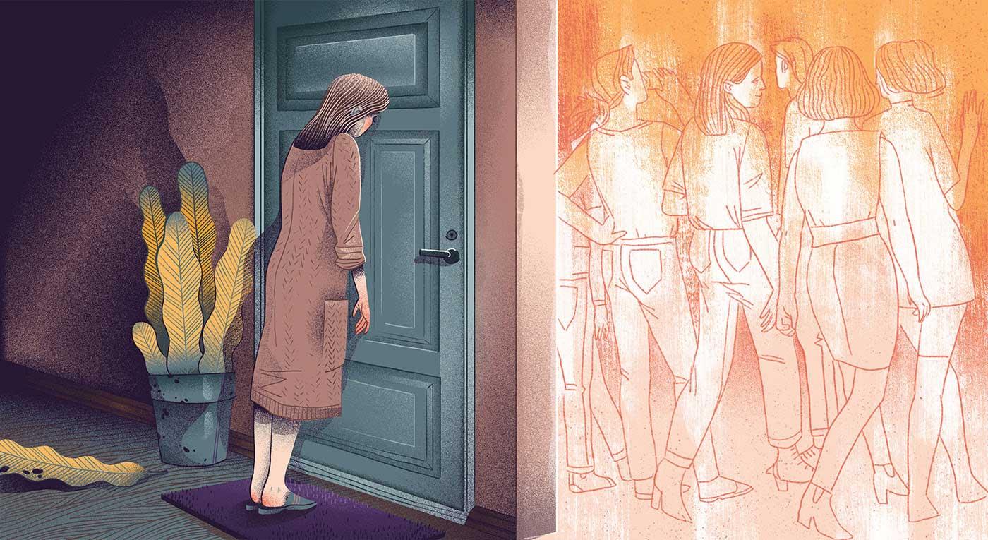 Neue Editorial-Illustrationen von Iza Dudzik Iza-Dudzik-illustration-2020_10
