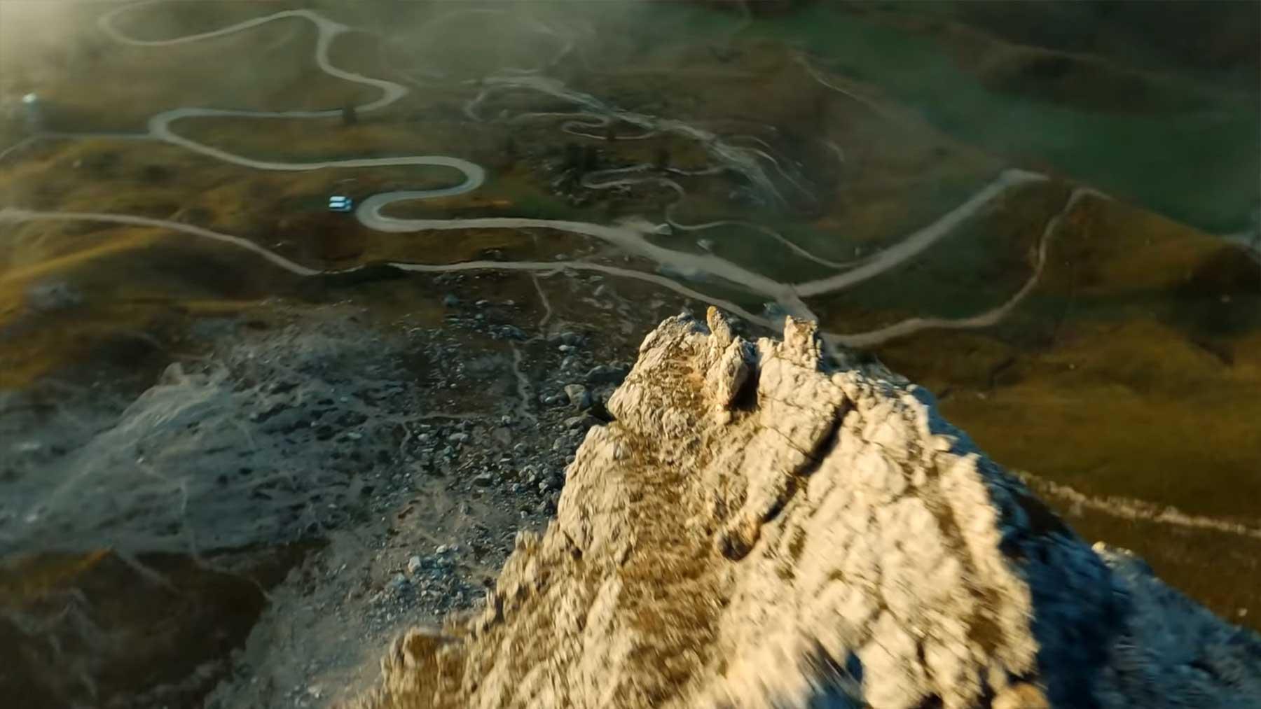 Fantastische Luftaufnahmen mit der Kameradrohne von Meli