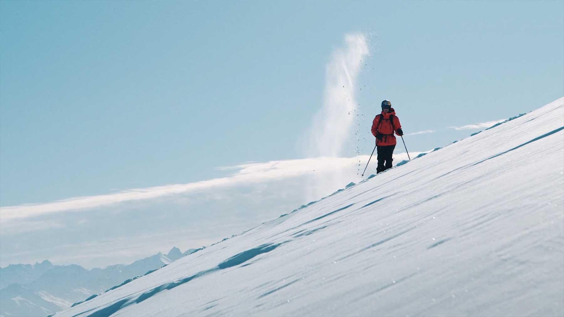 "Freeride Skiing Doku ""Richard Permin – Chroniques d'hiver"""