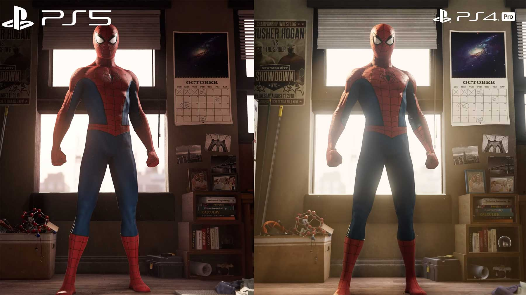 "Grafik-Vergleich PS4 vs PS5: ""Marvel's Spider-Man"" (Remastered) Spider-Man-ps4-vs-ps5-grafikvergleich"