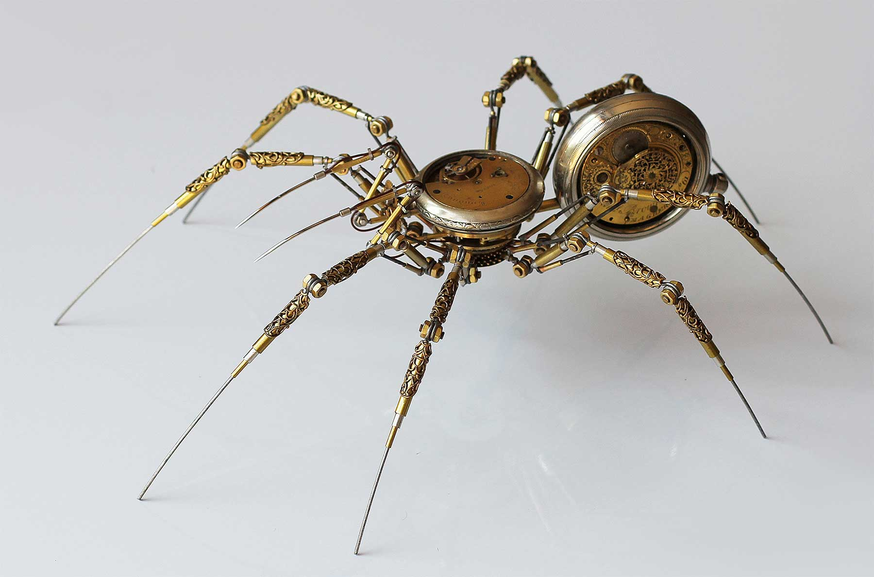 Steampunk Spiders von Peter Szucsy Steampunk-Spiders-Peter-Szucsy_01