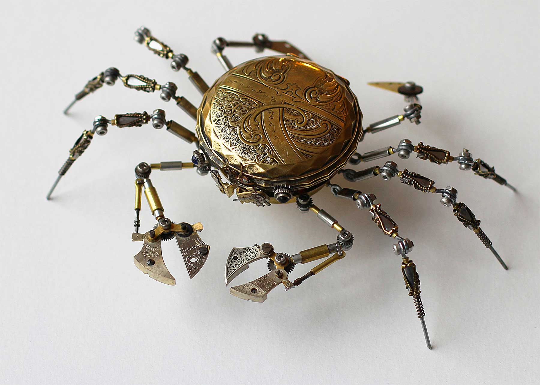 Steampunk Spiders von Peter Szucsy Steampunk-Spiders-Peter-Szucsy_05