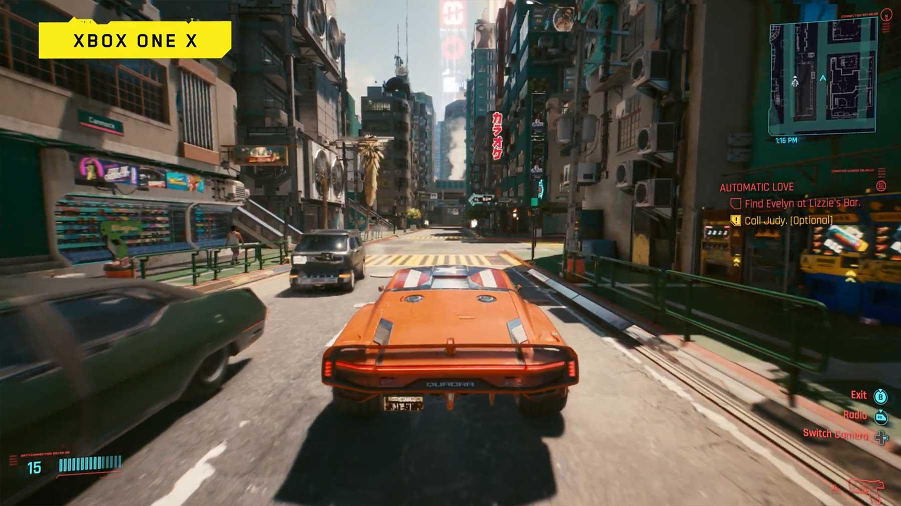 """Neues Konsolen-Gameplay zu """"Cyberpunk 2077"""""""