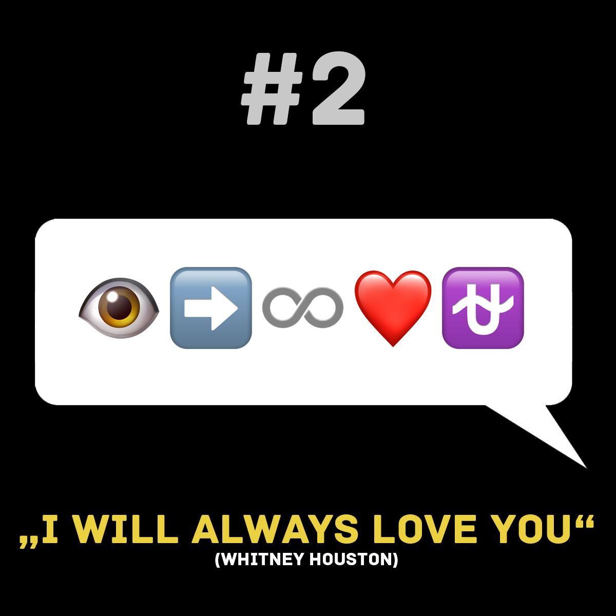 Songtitel in Emojis dargestellt emojibands_02b