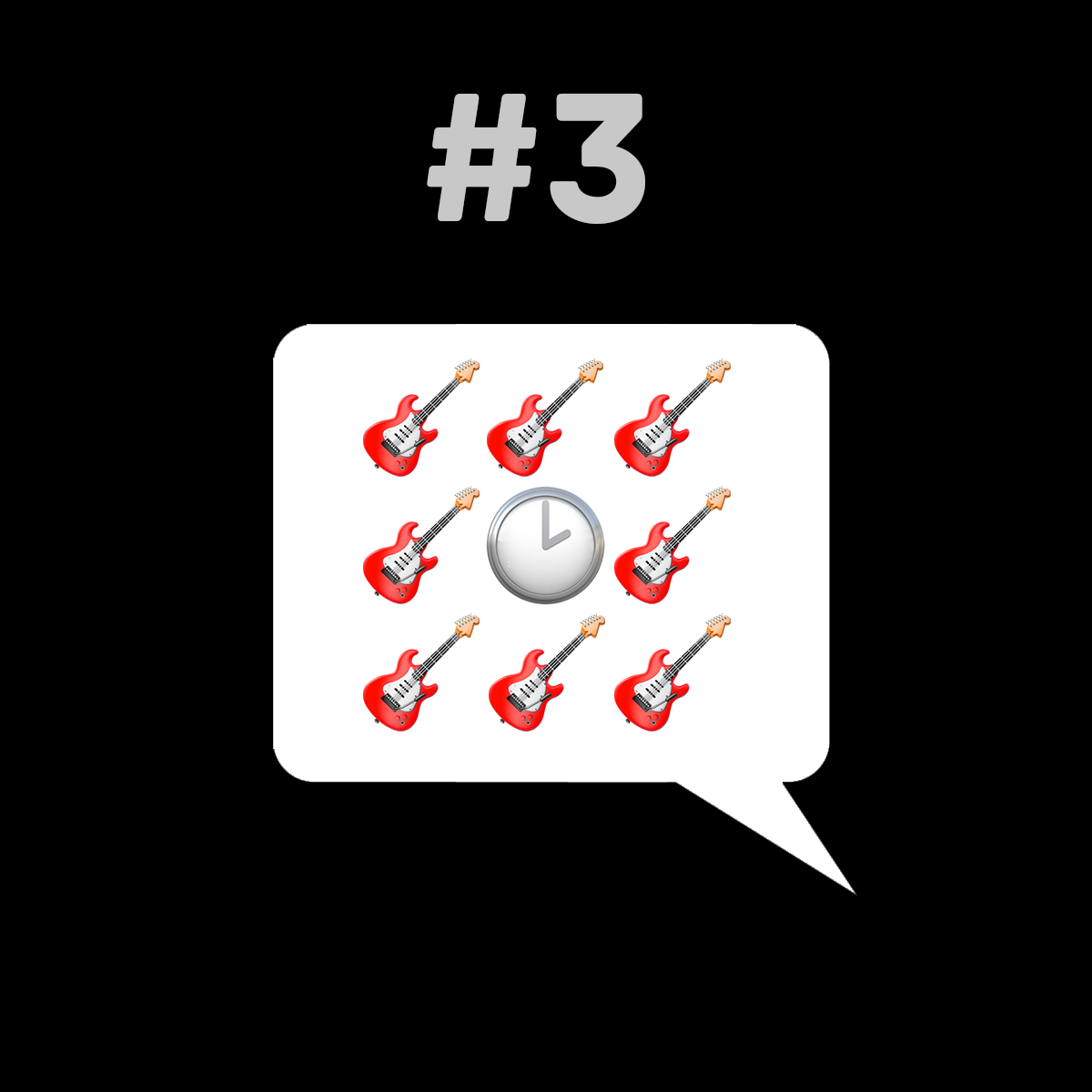 Songtitel in Emojis dargestellt emojibands_03
