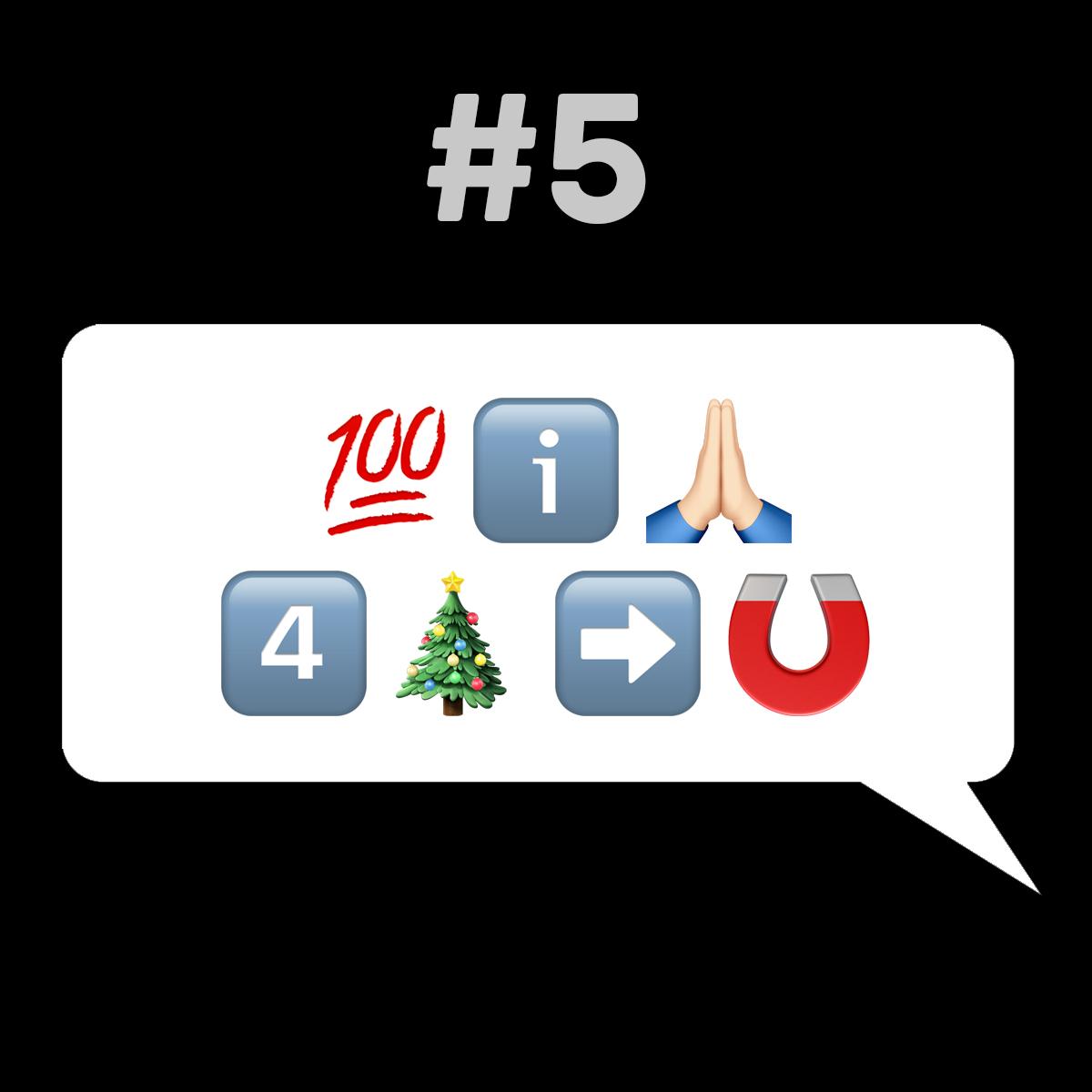 Songtitel in Emojis dargestellt emojibands_05