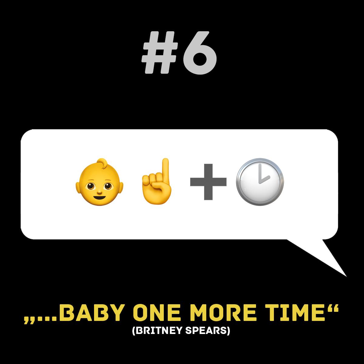 Songtitel in Emojis dargestellt emojibands_06b