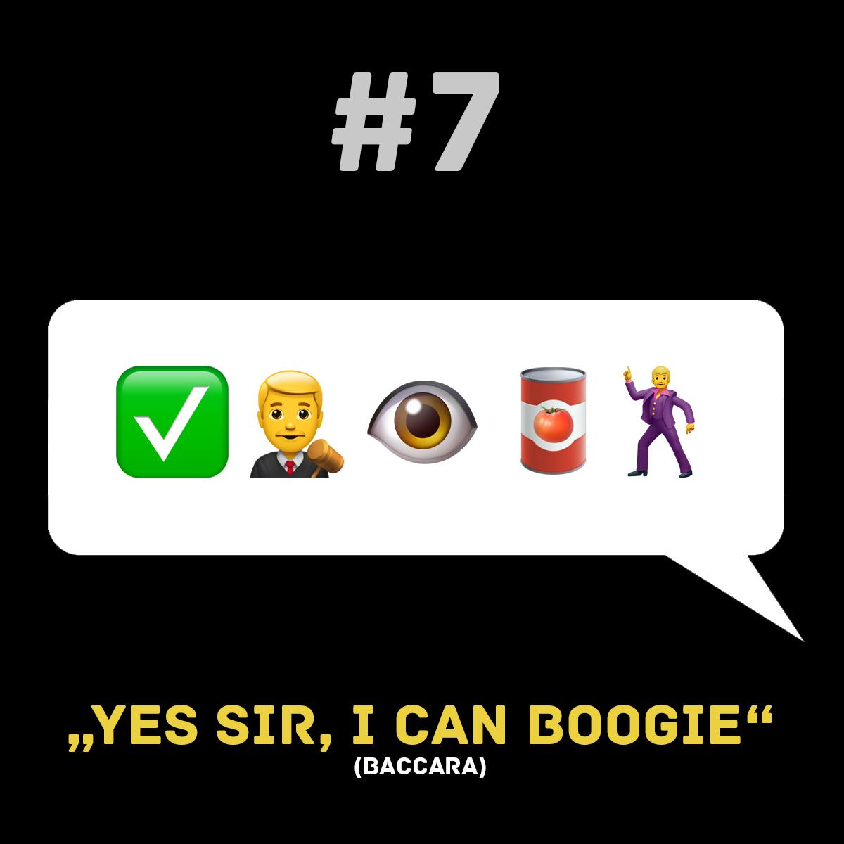 Songtitel in Emojis dargestellt emojibands_07b