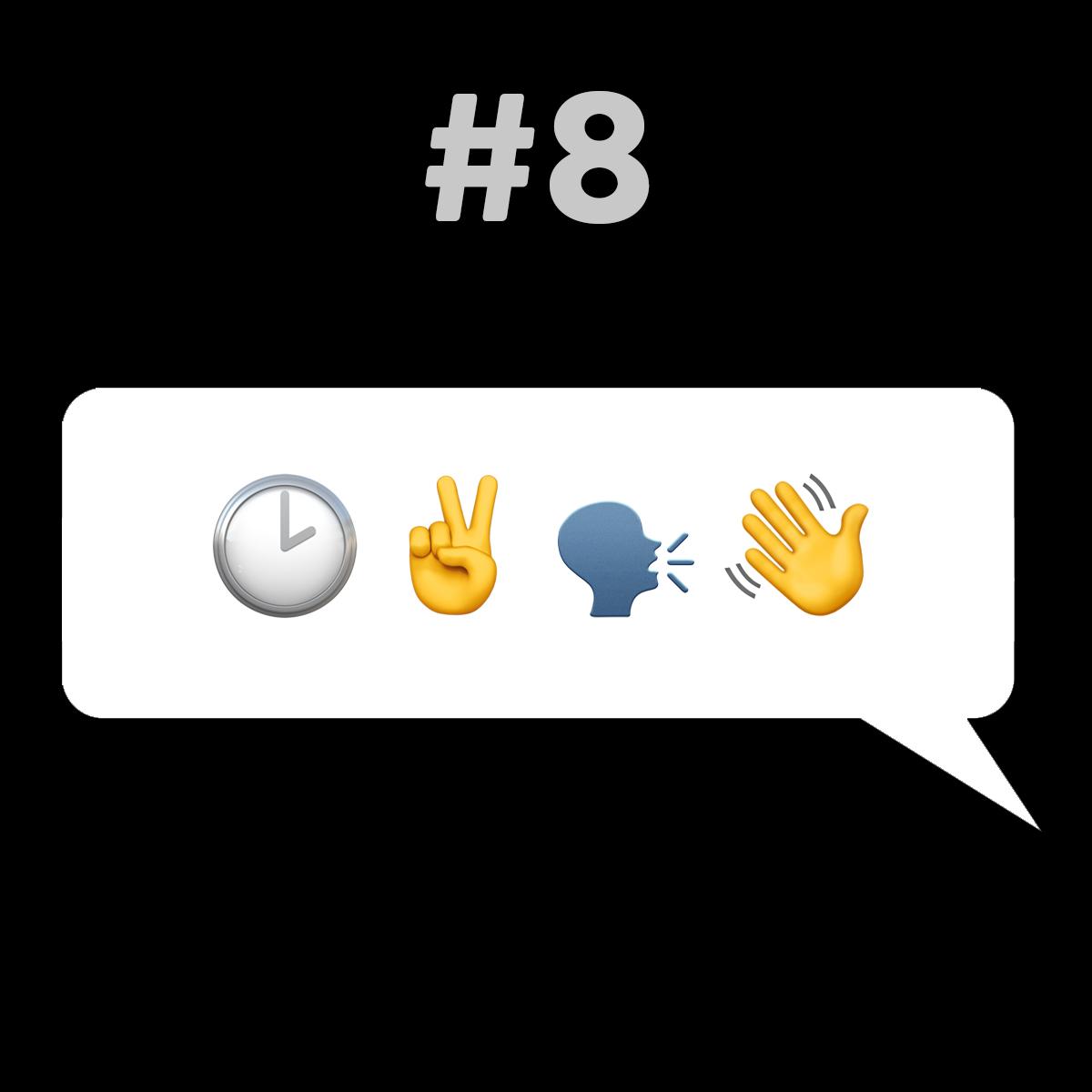 Songtitel in Emojis dargestellt emojibands_08