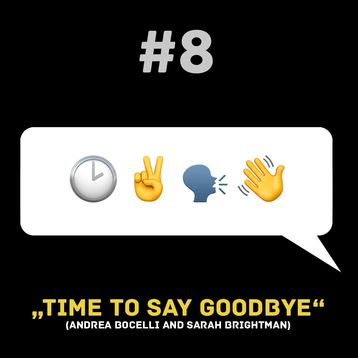 Songtitel in Emojis dargestellt emojibands_08b