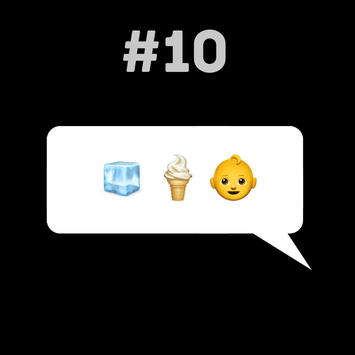 Songtitel in Emojis dargestellt emojibands_10