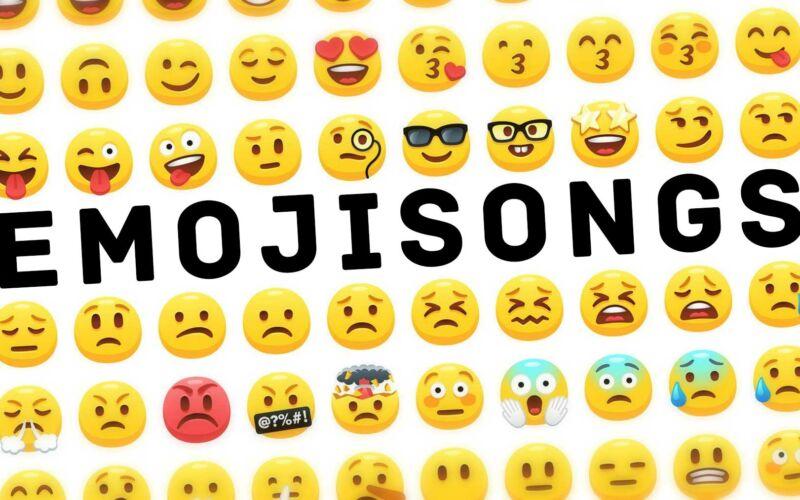 Songtitel in Emojis dargestellt