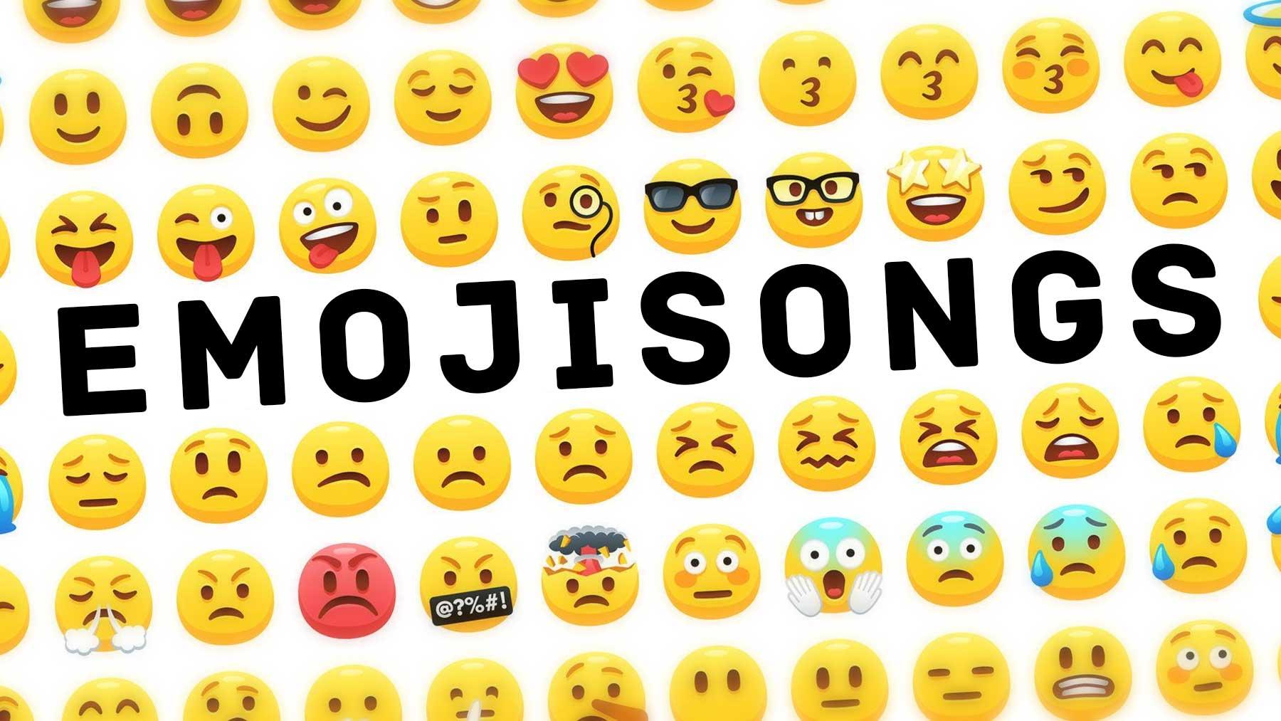 Songtitel in Emojis dargestellt emojisongs