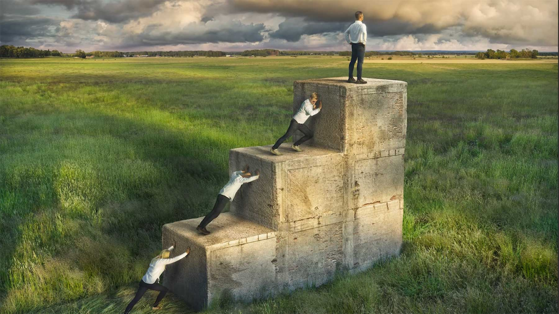 "Wie Erik Johansson sein Bild ""Work Together"" erstellt hat erik-johansson-work-together-making-of-video"